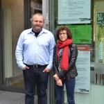 Mitarbeiteraustausch: Charline Bruno aus Lyon und Lukasz Walas aus Krakow