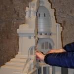 Tastmodell des Völkerschlachtdenkmals im Maßstab 1:100
