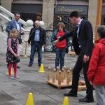 Museumsnacht 2012 - Kinderprogramm vor der Alten Börse