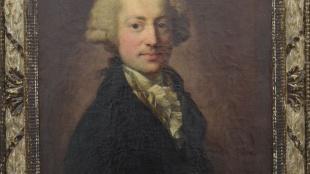 Karl Eberhard Löhr, um 1795, Anton Graff