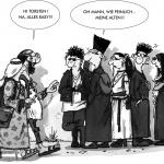 Comic von Uwe Roesch