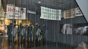 Installation zur Friedlichen Revolution