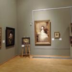 Ausstellungsteil mit dem Sissi-Gemälde
