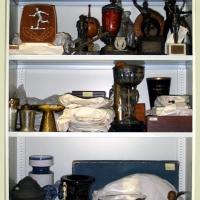 In der Sammlung gibt es mehr als 300 Pokale und Trophäen
