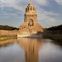 Das Völkerschlachtdenkmal in frischem Gewand nach der Generalsanierung