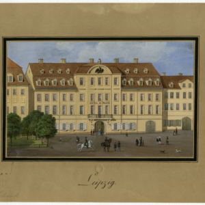 Das ehemalige Hôtel de Prusse am Roßplatz