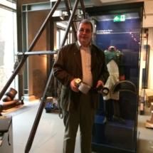 Steffen Poser, Leiter des Denkmals, ist glücklich über die Klimaschutzmaßnahme