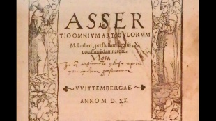 In dieser Verteidigungsschrift reagiert Martin Luther auf die Bannbulle des Papstes Leo