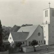 Trinitatiskirche, 1950