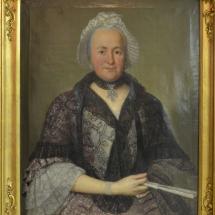 Porträt Catharina Margarethe Dumont, 1767 von Jakob Samuel Beck