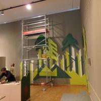 Gestaltung der stimmungsvollen Wanddekoration