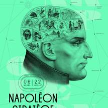 Plakat zur Ausstellung Napoléon Stratège