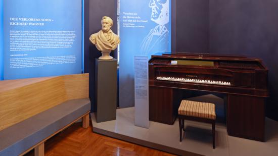 Einblick in den neugestalteten Wagner-Raum