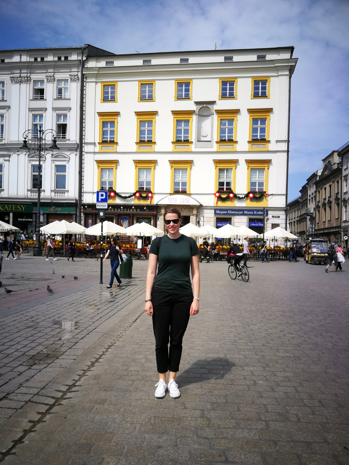 Lina Frubrich in Krakau