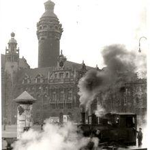 Trümmerbahn, um 1950